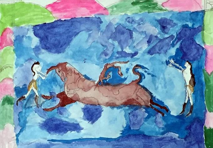 radovi učenika inspirisani grčkom grckaisrbija 2