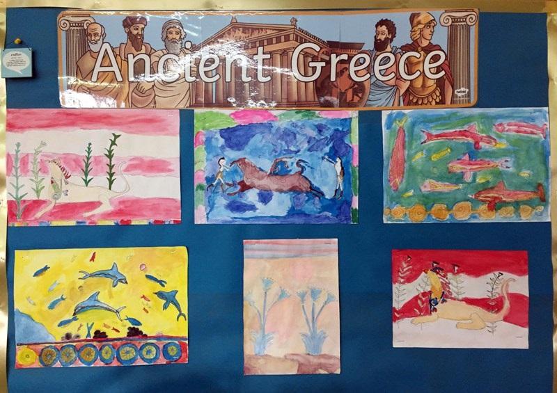 radovi učenika inspirisani grčkom header grckaisrbija
